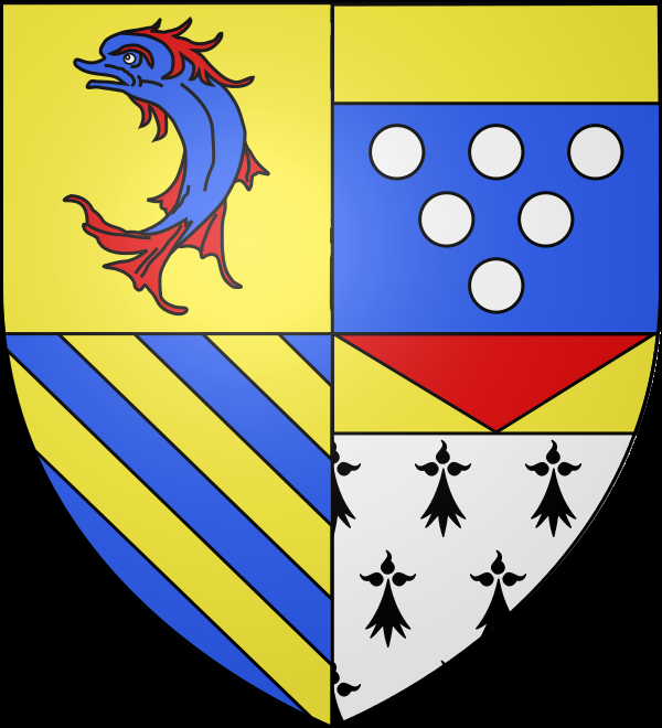 Wappen des Departements; Quelle: Wikipedia