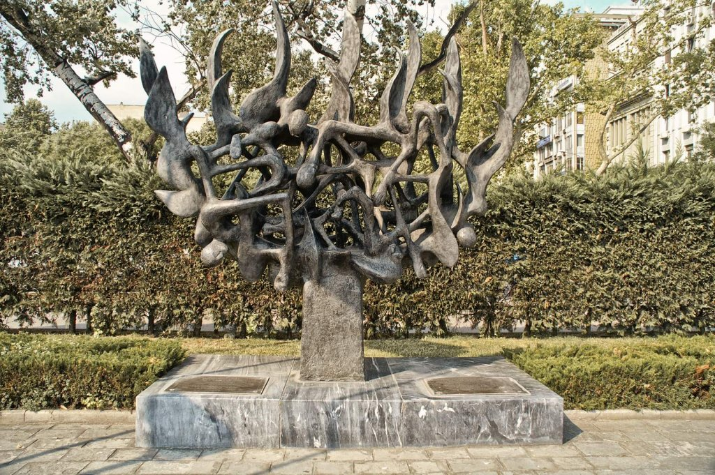 Holocaust Memorial in Thessaloniki